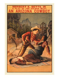 Playbill for Arizona Cowboy Prints