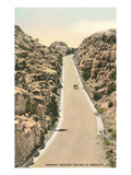 Highway Through the Dells, Prescott, Arizona Posters