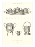 Rogers and Smith Engraved Tea Set Poster