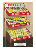 Display Stand for Ferry's Seeds Print