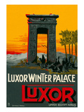 Luxor Wnter Palace Hotel, Egypt Poster
