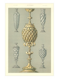 Pineapple Motif Table Decorations Art