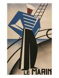 French Sailor, Le Marin Art