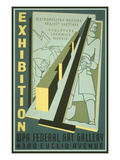 Poster for Wpa Art Exhibition Konst