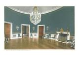 Blue Room, White House, Washington, DC Art