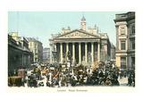 Royal Exchange, London, England Poster