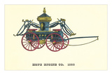 Vintage Firefighting Equipment Prints