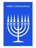 Merry Chrisnukkah, Menorah Posters