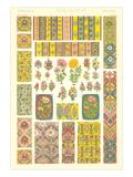 Persian Floral Motifs Posters