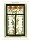 Art Nouveau Stained Glass Prints