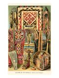 Mongolian Fabrics and Designs Prints