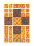 Patterns and Borders from the Middle Ages Prints