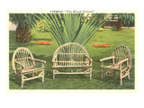 Bent-Wood Lawn Furniture Posters