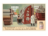 Chocolate Processing Factory Prints