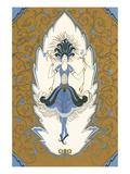 Art Deco Dancing Woman Posters