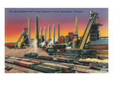 Sloss-Sheffield Steel Mill, Birmingham, Alabama Prints
