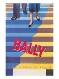 Ad for Bally Shoes, Staircase Prints