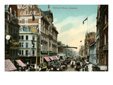 Vintage View of Oxford Street, London, England Prints