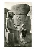 Statue of Ramses II, Luxor, Egypt Poster