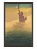 Pour La Liberte Du Monde, Statue of Liberty Prints