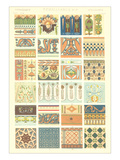 Renaissance Borders and Motifs Posters