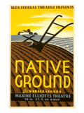Wpa Poster for Native Ground Play Prints