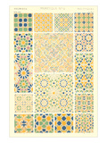 Moorish Tile Patterns Prints