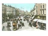 Vintage Regent Street, London, England Poster