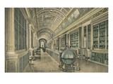 Library at Fontainebleau, France Prints