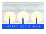 Happy Hanukkah, Candles Posters