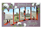 Greetings from Macon, Georgia Art