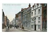 Watt's Charity, High Street, Rochestger, England Posters