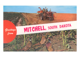 Greetings from Mitchell, South Dakota Prints