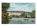 High Bridge, Lincoln Park, Chicago, Illiniois Art