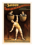 Sandow Trocadero Vaudeville Act Prints