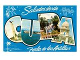 Saludos Desde Cuba Posters