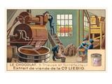 Chocolate Processing Factory Art