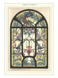 Art Nouveau Stained Glass Art