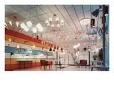 Showroom for Mid-Century Light Fixtures Prints
