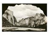Wawona Tunnel, Yosemite, California Prints