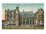 St. Germaine En Laye Castle, France Posters