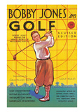 Bobby Jones Golf Magazine Art