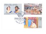 Swaziland Stamps, Queen Elizabetth Posters