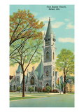 Baptist Church, Selma, Alabama Art
