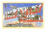 Greetings from Infantry School, Georgia Prints