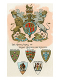 Royal Arms of Great Britain and Ireland Print
