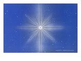 Happy Hanukkah, Star of David Prints