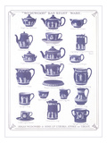 Wedgwood Teapots and Cups Poster
