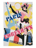 Poster for Paris Follies in Copenhagen Poster