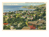 Residential Part of Laguna Beach, California Prints
